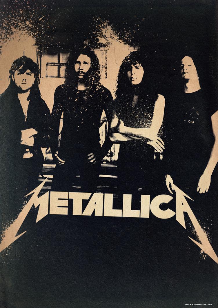 Band Poster: 90's Metallica By Elcrazy On DeviantArt