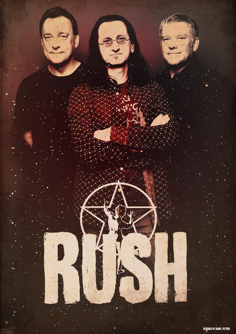 Band Poster: Rush By Elcrazy On DeviantArt