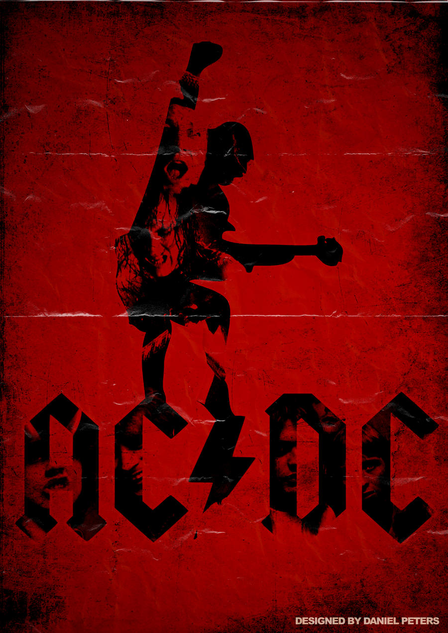 Ac Dc Art : Band poster acdc by elcrazy on deviantart