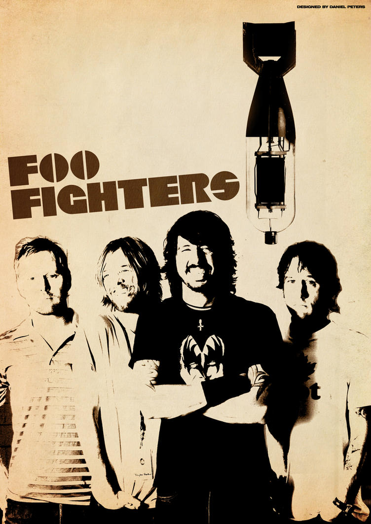 Band Poster Foo Fighters By Elcrazy