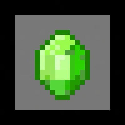 Minecraft emerald by MonkeyMadness3334 on DeviantArt