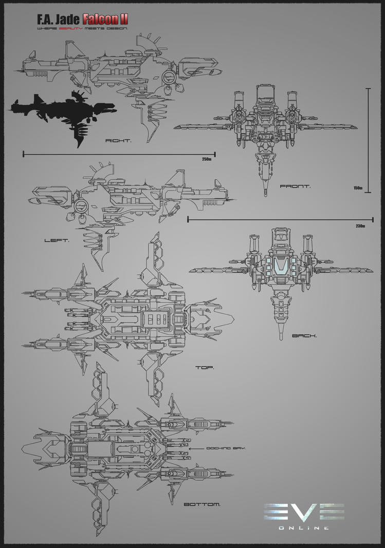F.A Jade Falcon II by farhatali-2005
