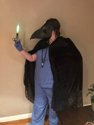 The Plague Doctor Is In