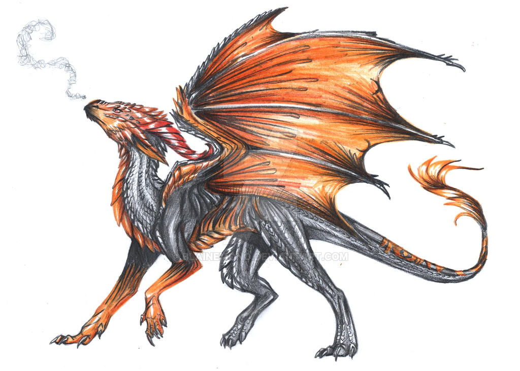 Lava Dragon By Blainemono On Deviantart