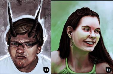 Portraits 2 by Du1l