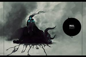 Bull Fight by Du1l