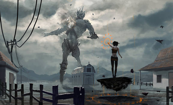 Giant vs Witch