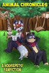 Animal Chronicles - Housepets! Fan Fiction Comic by PhalinRed