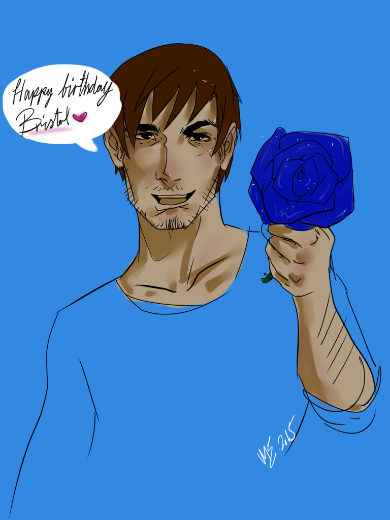 Happy Birthday B! by WildKurtisTrent