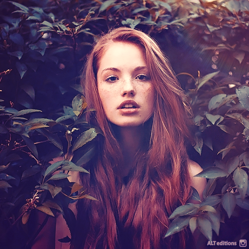 Daria In Red: Daria Sidorchuk By ALTeditions On DeviantArt
