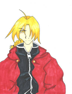 Edward Elric by renky