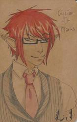 Cillian D Marks Molskin note book by: LJ by renky