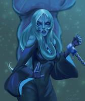 Blue diamond is not sad by Grijannax
