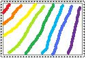 rainbow stamp by emaisgolden