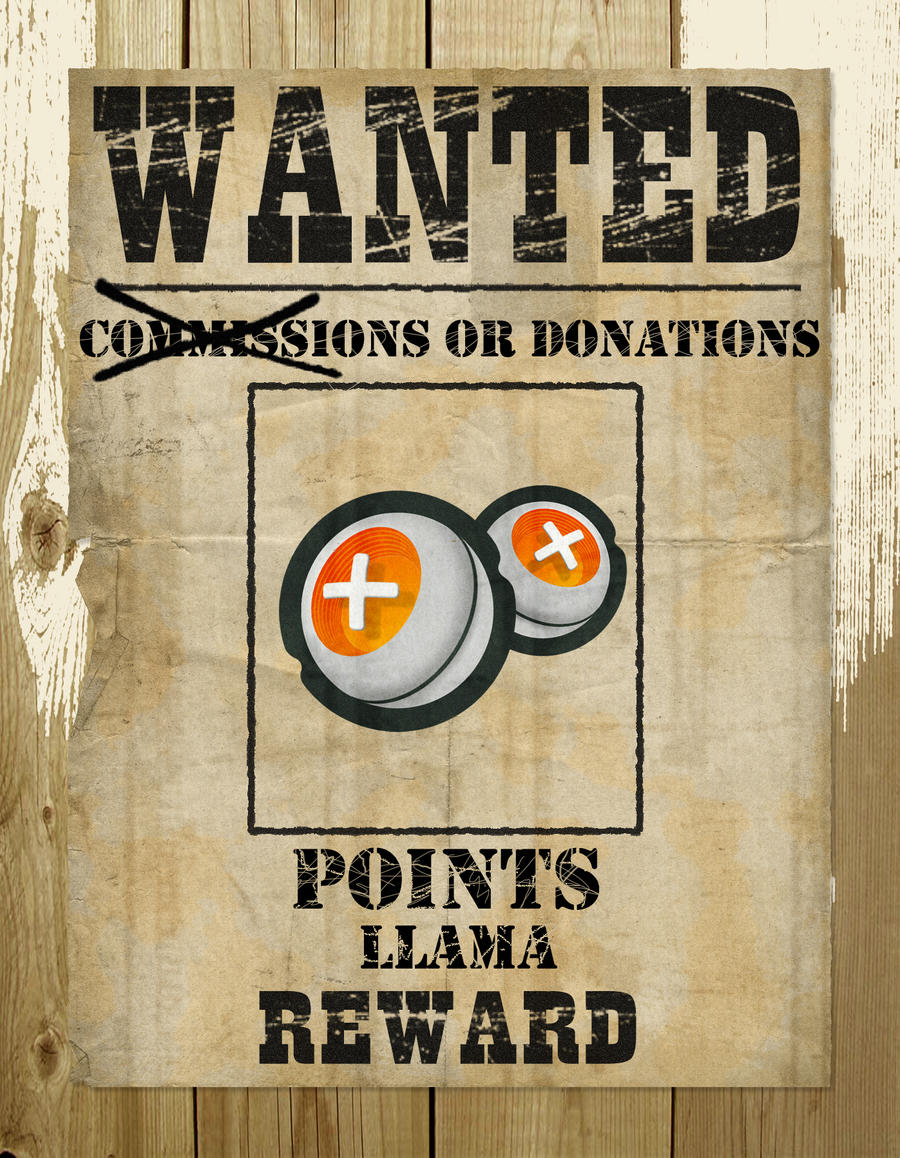 Funny wanted poster template