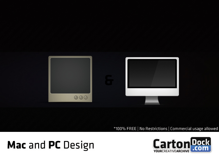 Mac and PC design by UJz