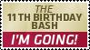 11th Birthday Bash I'm going by UJz
