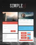 Simple UI (FREE KIT) by UJz