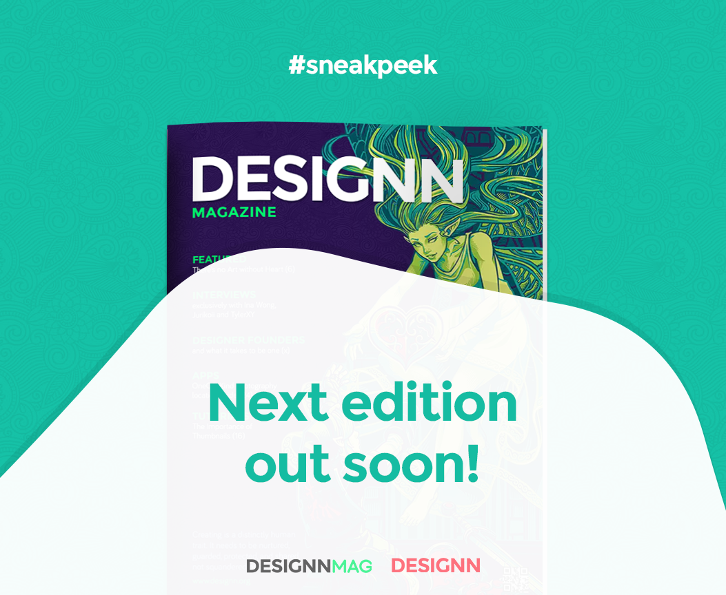 Designn Magazine 7 #SneakPeek by UJz