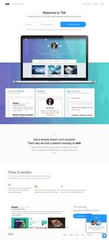 Tidl - Portfolio and resume service