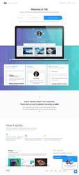 Tidl - Portfolio and resume service by UJz