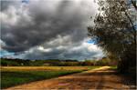 Autumn Fields by Peug