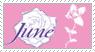 June yaoi manga stamp