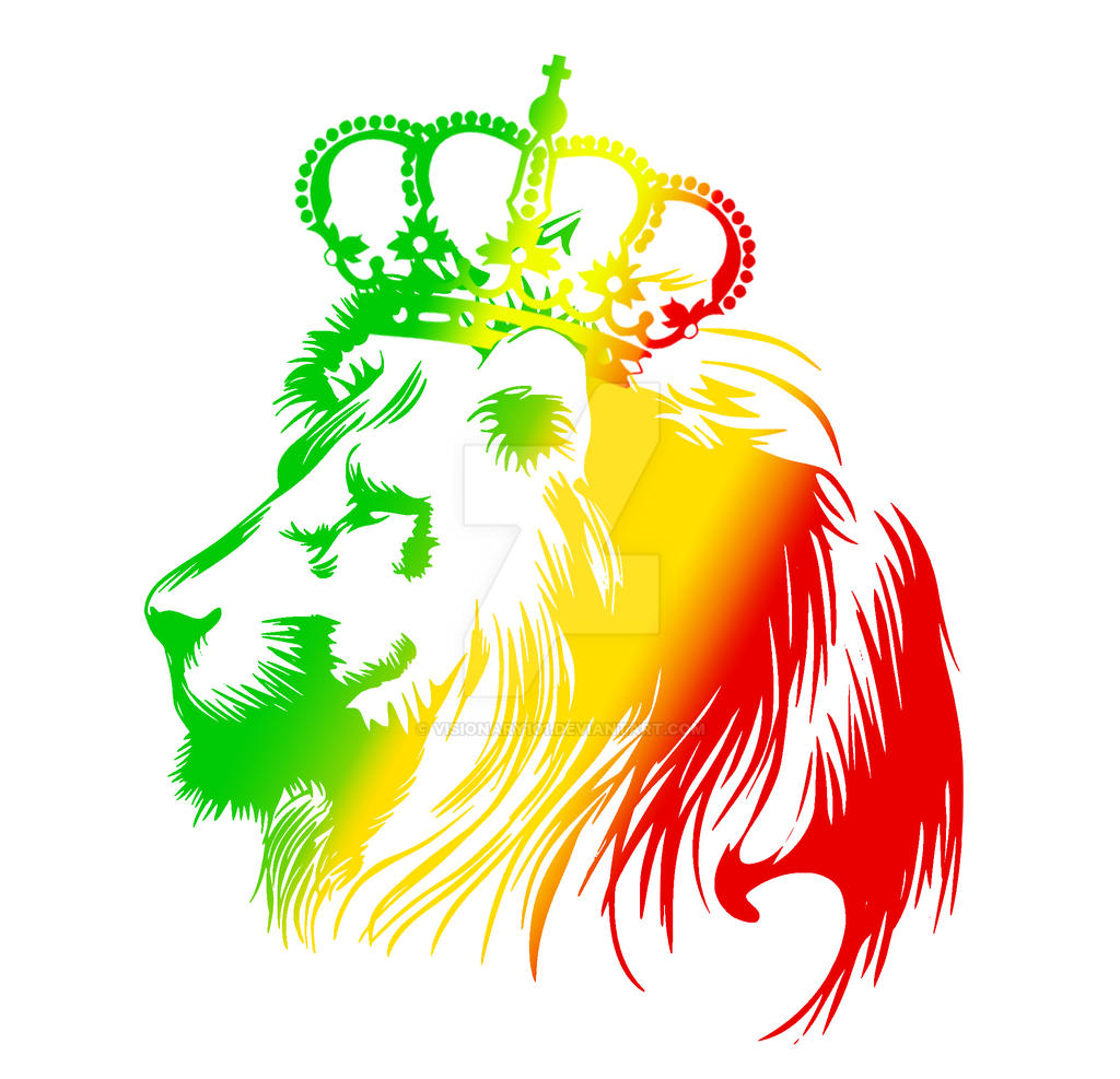Rasta lion face sketch - photo#26