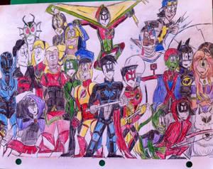 Justice League Redesign Pt 3: Teen Titans