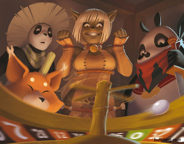 Wakfu TCG - La roulette by ThornBulle