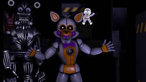 ( FNAF SL SFM ) custom night characters