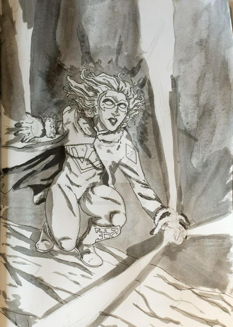 Inktober#3 by Silverback1