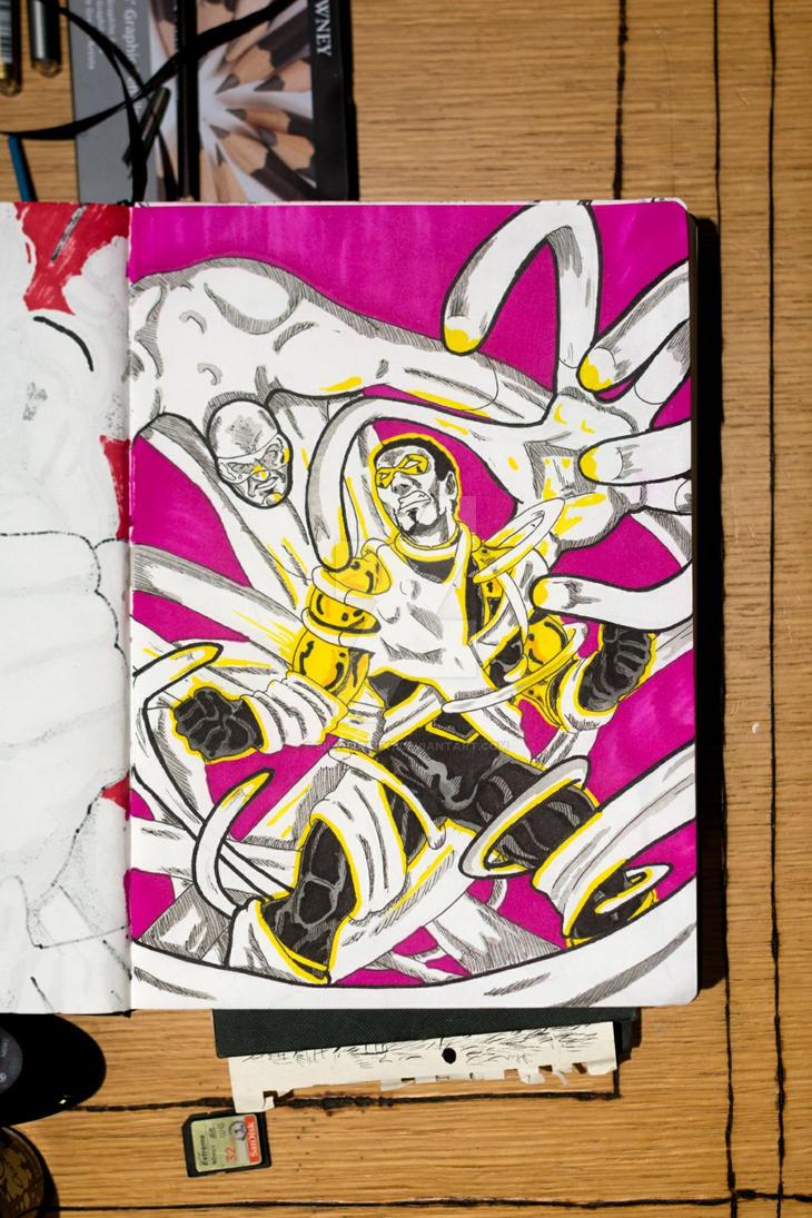 Inktober#5 by Silverback1