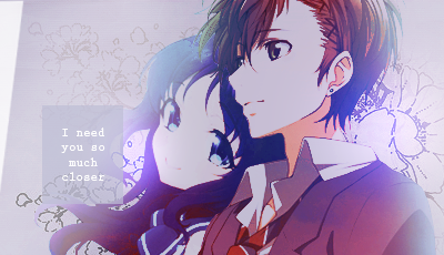 Signature couple anime by KokoDesigns