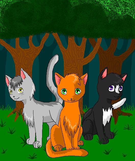 Warriors Into The Wild Dra Level: Warriors Into The Wild By Silverlionwolf On DeviantArt