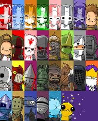 Castle Crashers by mechaglacier
