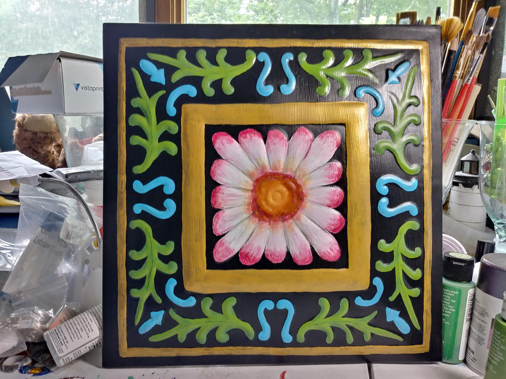 Flower Tile by funygirl38
