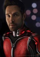Ant-Man - Paul Rudd by danchorman