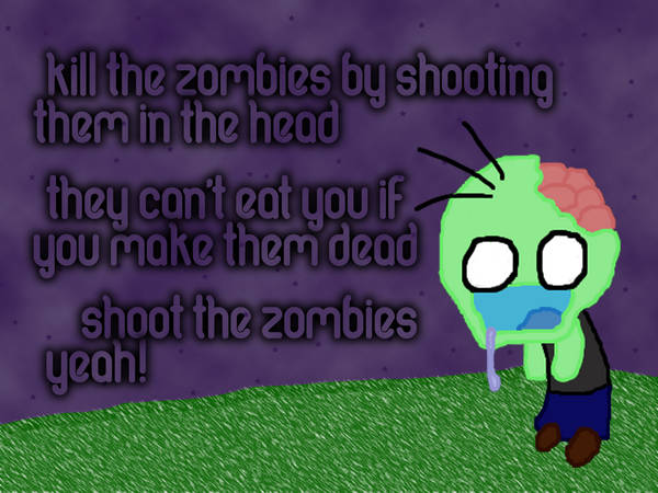 Shoot The Zombies by neul1690