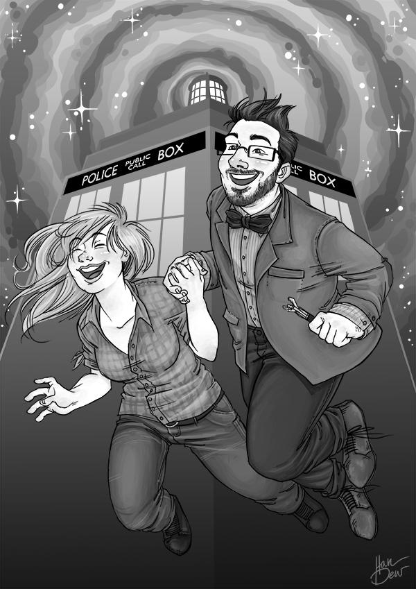 Doctor Who Comission by HanneDW
