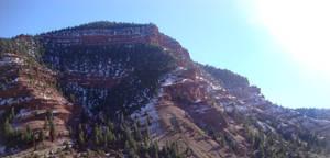 Early Winter Red Rocks
