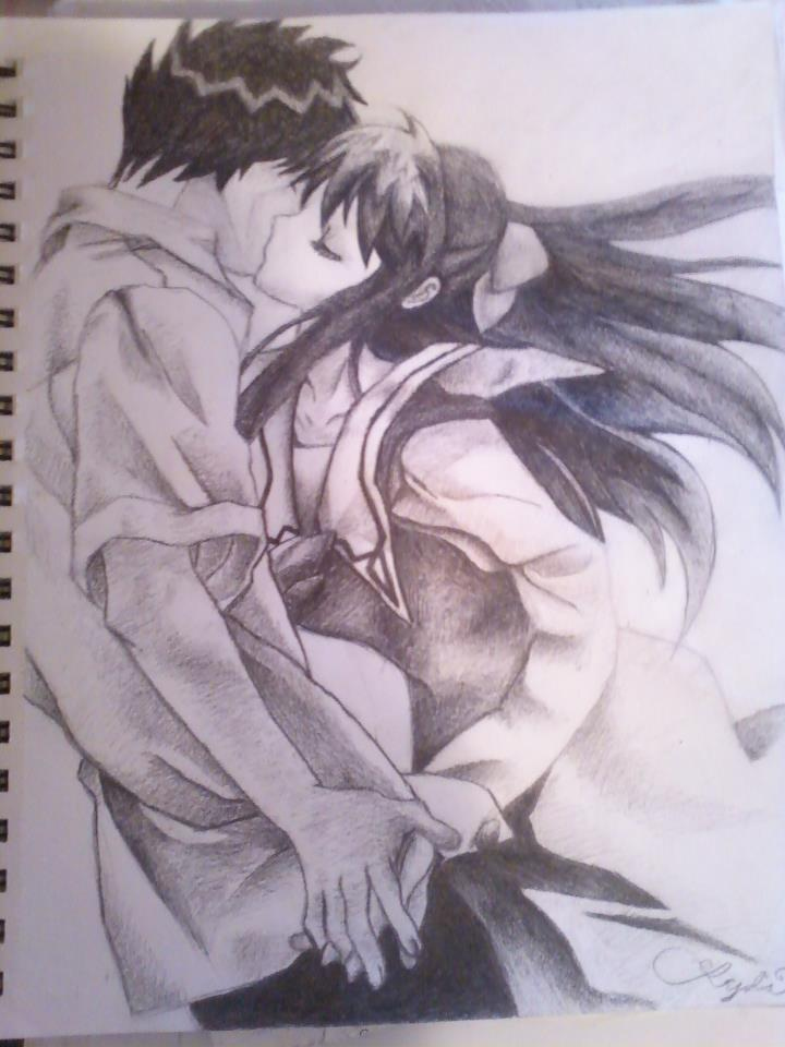 My anime drawing by missygirlevellyn