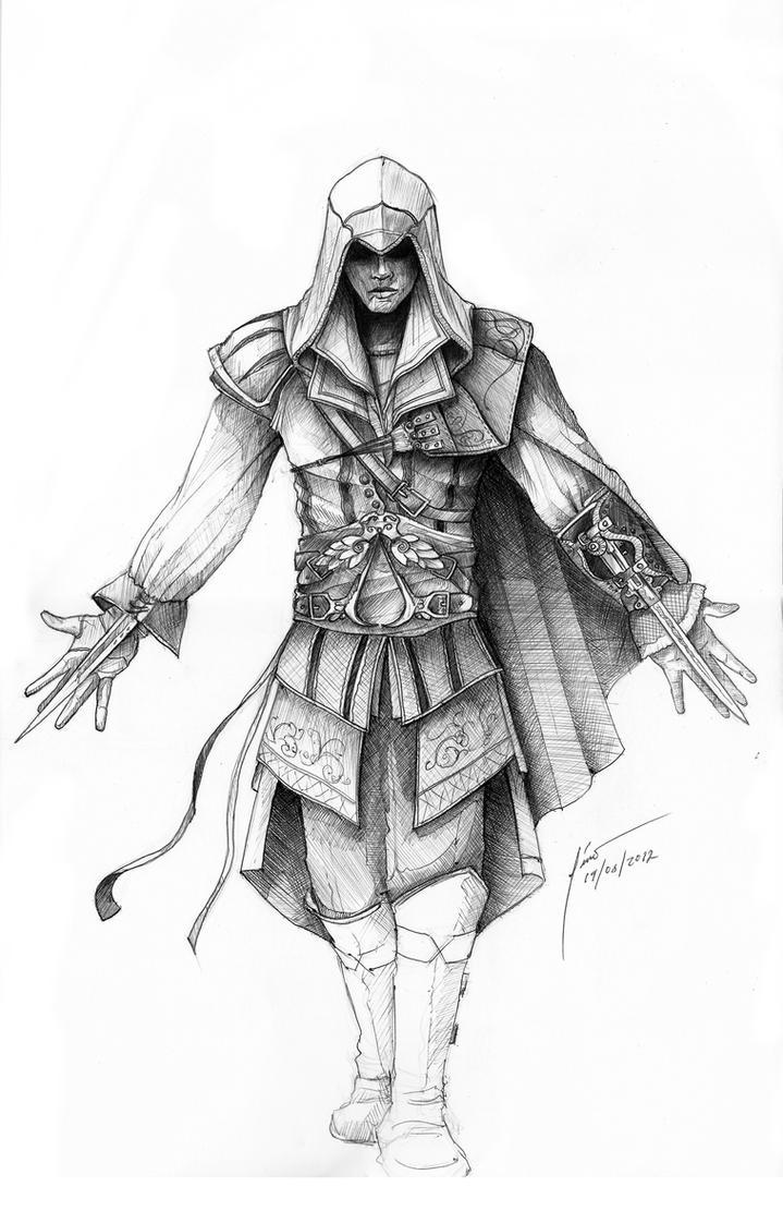 Assassins Creed fan art by