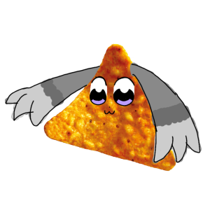Choop except she's literally a chip (ver. 2) by Danceykitty