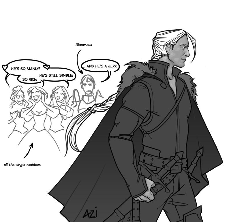 baron Rivendare as human by scourge-minion