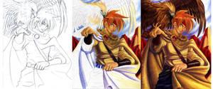 In progress-My Golden Man by mayshing