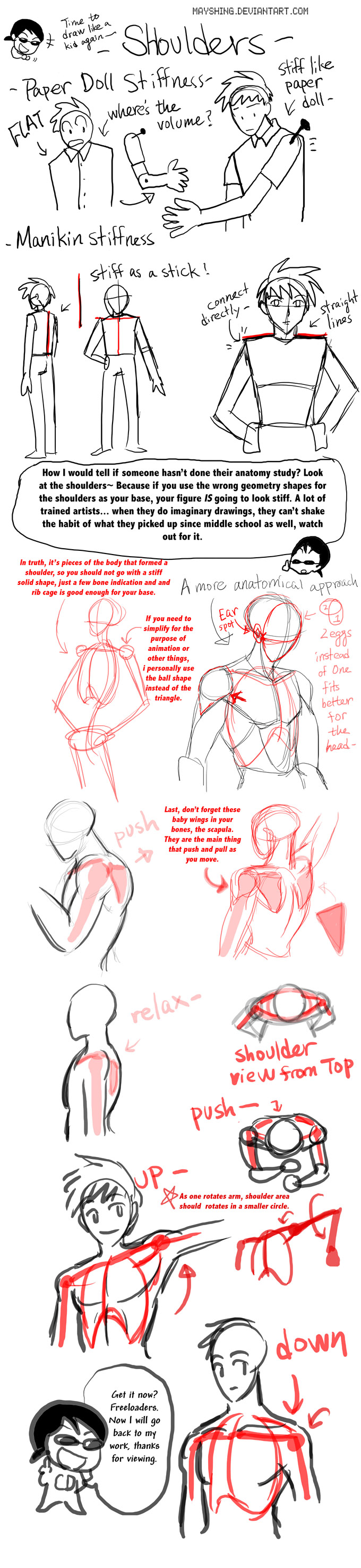 CDs quick Shoulder tutorial by mayshing