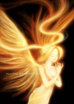 Angel shines