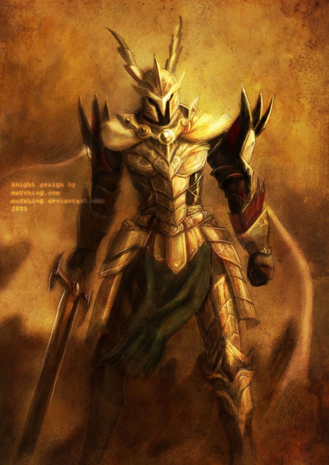 Sketch-knights design by mayshing