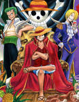 OnePiece-Luffy The Pirate King